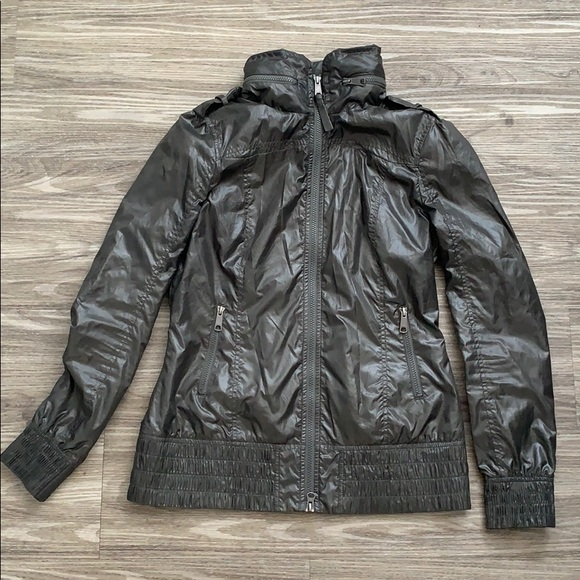 Mackage grey rain jacket